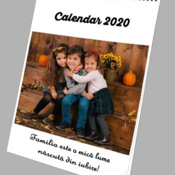 Calendar personalizat cu poze A3
