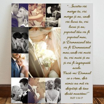 Tablou canvas personalizat incotro vei merge