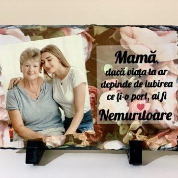 Piatra personalizata pentru mama