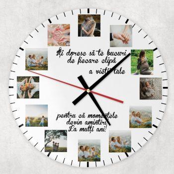 ceas rotund la multi ani