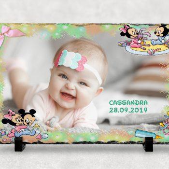 piatra personalizata bebe girl